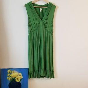 NWT Sangria Green Sundress